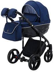 Детская коляска универсальная 2 в 1 Adamex Chantal C204-CZ (Адамекс Шанталь, Польша)