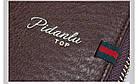 Мужской стильный портмоне клатч  PIDANLU TOP черного цвета, фото 2
