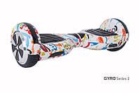 Гироскутер с 6,5 дюймовыми колесами Smart Way U3 (граффити), фото 1