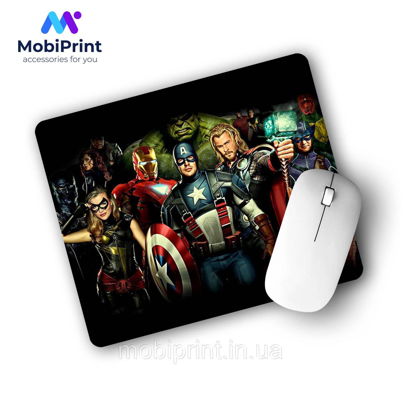 Коврик для мышки Мстители (Avengers)  (25108-1380)