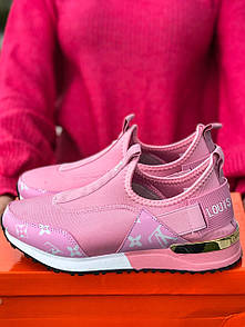 Кроссовки женские Louis Vuitton Pink