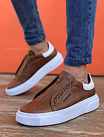 Чоловічі кросівки Chekich CH092 Brown, фото 1