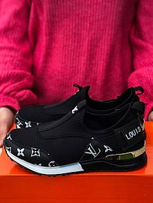 Кроссовки женские Louis Vuitton Black