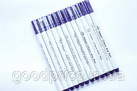 Набір зникаючих маркерів Pugovichok для фетру та тканини 12 шт.