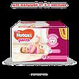 Підгузки-трусики Huggies Pants для дівчаток 3 (6-11кг), 88шт, фото 2