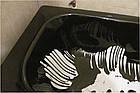 Краситель для жидкого акрила ПРОСТО И ЛЕГКО для реставрации ванн 50 г Черная ванна (5954), фото 3