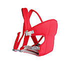 Сумка-кенгуру SUNROZ YEBD-2 Baby Carrier рюкзак для переноски ребенка Красный (SUN0979), фото 2
