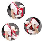 Сумка-кенгуру SUNROZ YEBD-2 Baby Carrier рюкзак для переноски ребенка Красный (SUN0979), фото 4