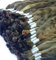 Детские Волосы 40 см Lux не окрашенные (natural), фото 1