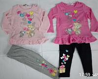 Набор 2в1 для девочек оптом, Sincere, 12-36 мес,  № ZOL-14411