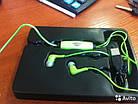 Светящиеся наушники GLOW с EL свечением (Power4) стильный аксессуар (зеленые), фото 4