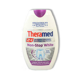 Зубна паста Theramed Non Stop White 2-в-1 з ополіскувачем 75 мл 01385
