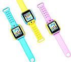 Детские умные GPS часы Smart Baby Watch Q10 (G75) с трекером 3G отслеживания и камерой цветной экран (синие), фото 2