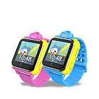 Детские умные GPS часы Smart Baby Watch Q10 (G75) с трекером 3G отслеживания и камерой цветной экран (синие), фото 4
