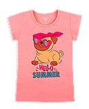 Детская футболка для девочки FT-20-16-1 *Морской Гламур*, фото 3