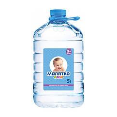 Вода для приготування дитячого харчування та пиття Малятко, негазована, 0+, 5л