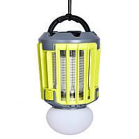 Уничтожитель насекомых SUNROZ Killer LampM5 IPX6 2в1 умный фонарь ловушка для комаров и мух 2000 мА Желтый, фото 1