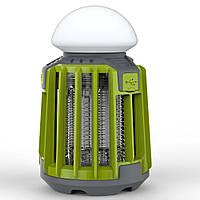 Уничтожитель насекомых SUNROZ Killer Lamp M5 IPX62в1 умный фонарь ловушка для комаров и мух 2000 мА Зеленый, фото 1