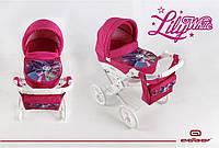 Игрушечная коляска для кукол Adbor Lily White (Мотылек)
