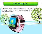 Детские умные часы телефон трекер Smart Baby Watch Q528 c сенсорным цветным экраном и фонариком (синие), фото 5