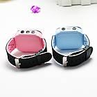 Детские умные часы телефон трекер Smart Baby Watch Q528 c сенсорным цветным экраном и фонариком (синие), фото 7