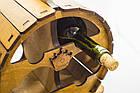 """Подарочный деревянный сувенирный набор """"Мини-бар Бочка и стопки"""" ручной работы, фото 3"""