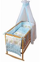 """Комплект постели """"Baby Bear"""" (8 элементов, 3 цвета набора)"""
