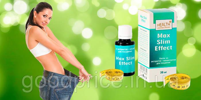 Max Slim Effect - капли средство для похудения от Health Collection, 30 мл