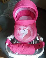Игрушечная коляска для кукол Adbor Lily White (Пони)