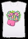Детская футболка для девочки FT-20-18-1 *Лайк* (размер 122,128,134), фото 2