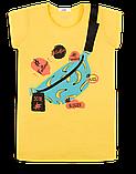 Детская футболка для девочки FT-20-18-1 *Лайк* (размер 122,128,134), фото 3