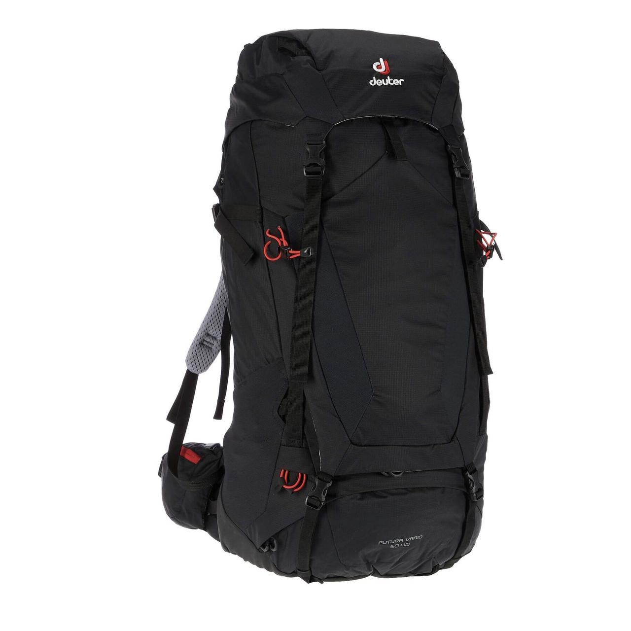 Рюкзак Deuter Futura Vario 50+10 black (3402118 7000)