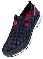 Весенние - летние кроссовки сетка, красные. Размеры 37, 38, 40, 42, 43, 44, 46, 47. Restime 20820.