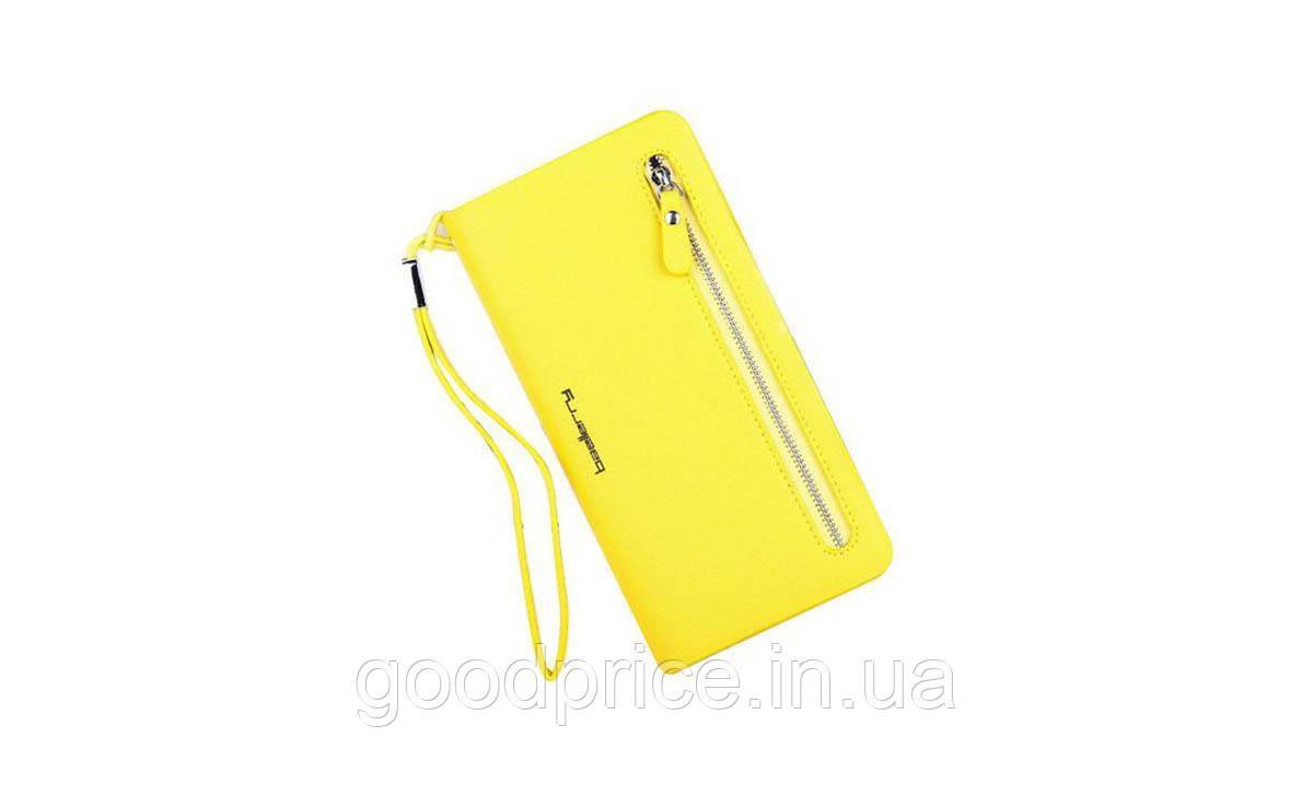 Женский кошелек Baellerry Elegance Желтый