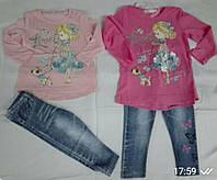 Набор 2в1 для девочек оптом, Sincere, 12-36 мес,  № ZOL-14431