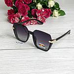 Стильные черные солнцезащитные очки линза polarized, фото 6