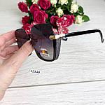 Стильные черные солнцезащитные очки линза polarized, фото 7