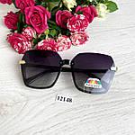 Стильные черные солнцезащитные очки линза polarized, фото 5
