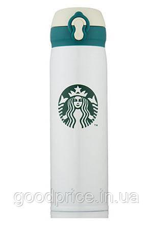 Термос Starbucks (Старбакс) 500 мл Белый
