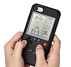 Чехол панель TETRIS CASE LAUDTEC WANLE для смартфонов iPhone 6/6S с игрой Тетрис Черный, фото 2