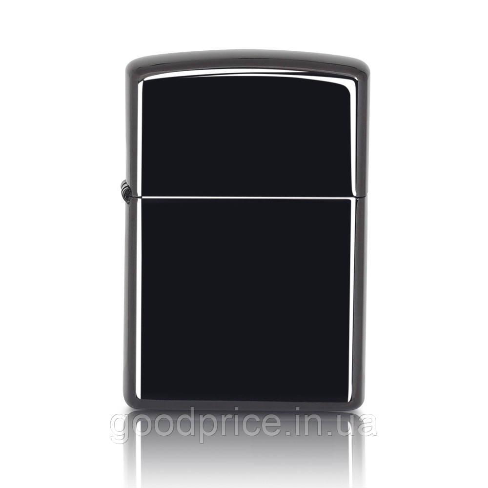 Электроимпульсная зажигалка SUNROZ, Портативная электронная аккумуляторная USB зажигалка, Черная