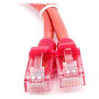 Патч-корд 1м, UTP, cat.5e, LSZH, red Molex (PCD-01001-0C)