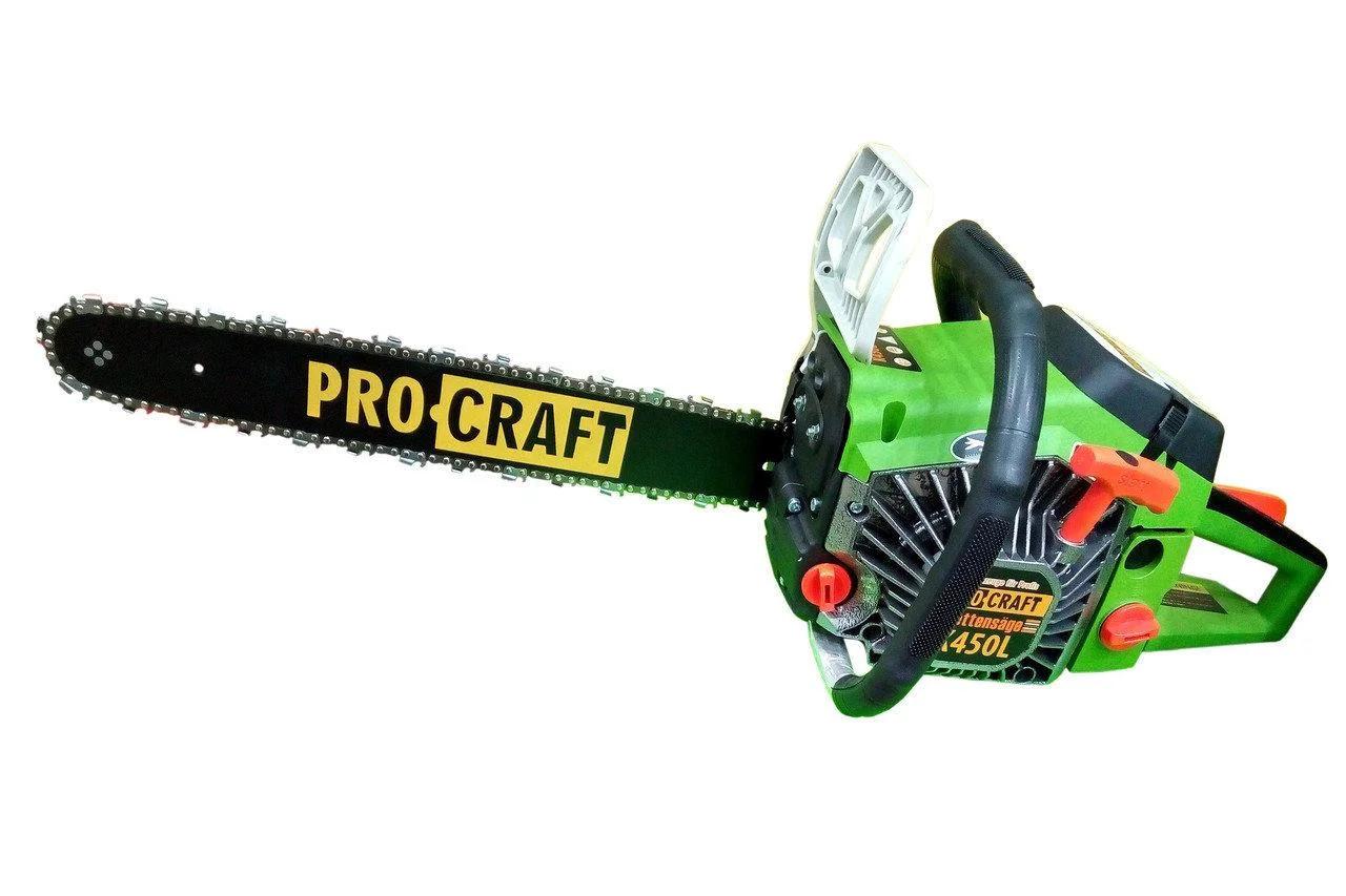 Бензопила Procraft K450L (1 шина, 1 цепь 45)