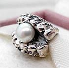 """Шарм бусина Pandora (Пандора) """"Жемчужина в ракушке"""", фото 3"""