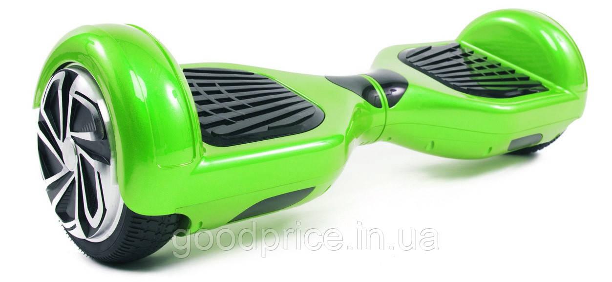 Гироскутер с 6,5 дюймовыми колесами Smart Way U3 (зеленый)