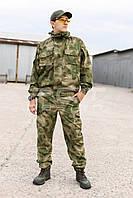 Костюм Горка разведчик камуфляжный A-TACS FG из тонкой летней ткани, фото 1