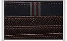 Мужской стильный портмоне клатч  PIDANLU PDL коричневого цвета, фото 3