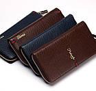 Мужской стильный портмоне клатч  PIDANLU PDL коричневого цвета, фото 4