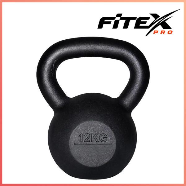 Гиря железная Fitex MD2118-12, 12 кг