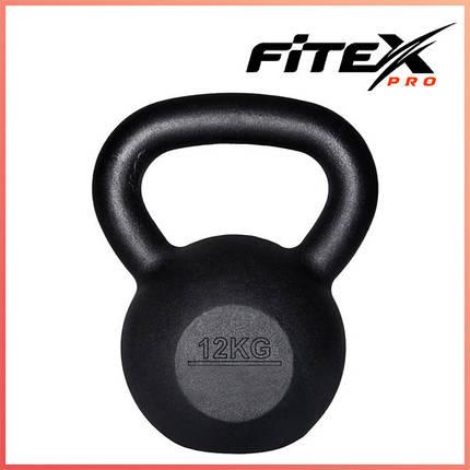 Гиря железная Fitex MD2118-12, 12 кг, фото 2